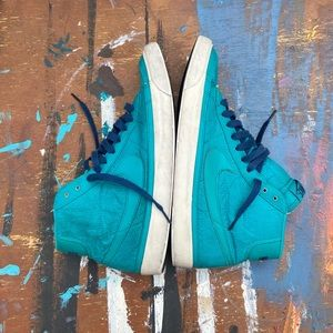 Nike blazer mid turquoise